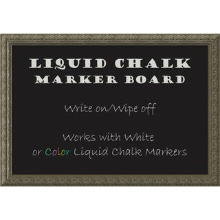 Barcelona Liquid Chalk Marker Board Medium 26 x 18-inch