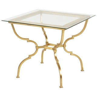 Safavieh Couture High Line Collection Novalei Gold Leaf Side Table