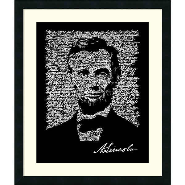image about Gettysburg Address Printable titled Retail store L.A. Pop Artwork Abraham Lincoln (Gettysburg Deal with
