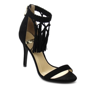 Beston DB43 Women's Tassel Strap Dress Heels