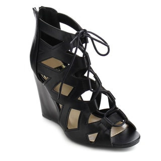 Beston DB42 Women's Gladiator Wedge Sandals