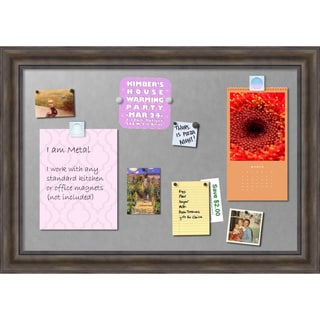 'Rustic Pine Magnetic Board 42 x 30-inch