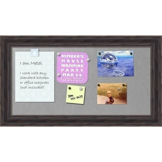 'Rustic Pine Magnetic Board 28 x 16-inch