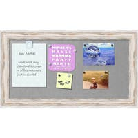 'Alexandria Whitewash Magnetic Board 27 x 15-inch