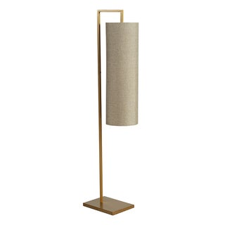 INK+IVY Fio Gold Metal Floor Lamp