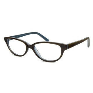 V Optique Women's Brigitte Oval Reading Glasses