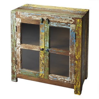 Butler Haveli Reclaimed Wood Display Cabinet