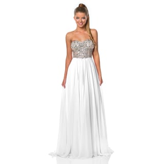 Terani Couture Women's A-Line Prom Gown