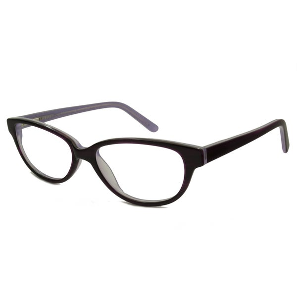 V Optique Women's Brigitte Oval Reading Glasses