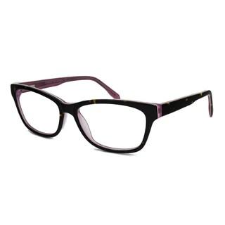 V Optique Women's Audrey Rectangular Reading Glasses