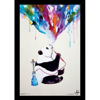 Chai by Marc Allante Print (24-inch x 36-inch) with Contemporary Poster Frame