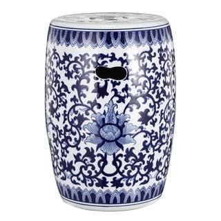 Ceramic Oriental Garden Stool