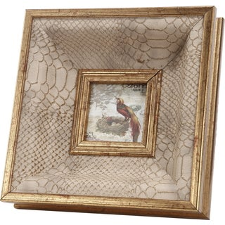Lauren Taupe/ Beige Photo Frame