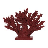 Faux Coral 10-inch Decor