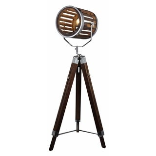 Brown 57-inch Floor Lamp