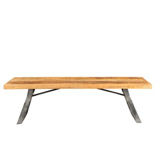 Wanderloot La Brea Industrial Sustainable Mango Wood Dining Bench (India)