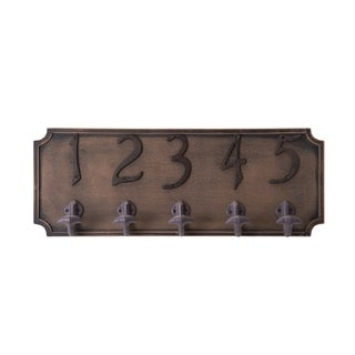 Melannco Numbered Iron Hooks