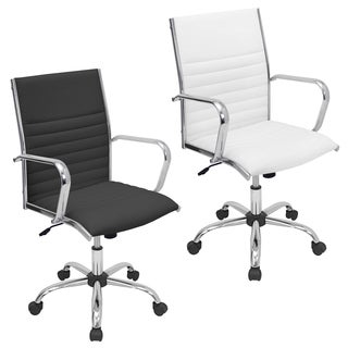 modern leather office chair. oliver \u0026 james anya modern faux leather office chair