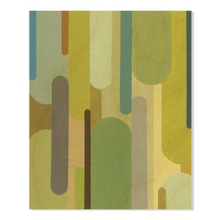 Gallery Direct Sean Jacobs Hyperspace I Print on Birchwood Wall Art