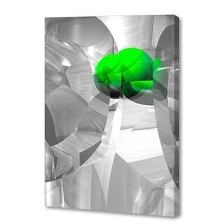 Menaul Fine Art 'Shattered Green' by Scott J. Menaul