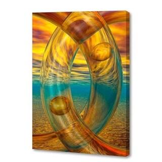 Menaul Fine Art's 'Sunset Rings' by Scott J. Menaul