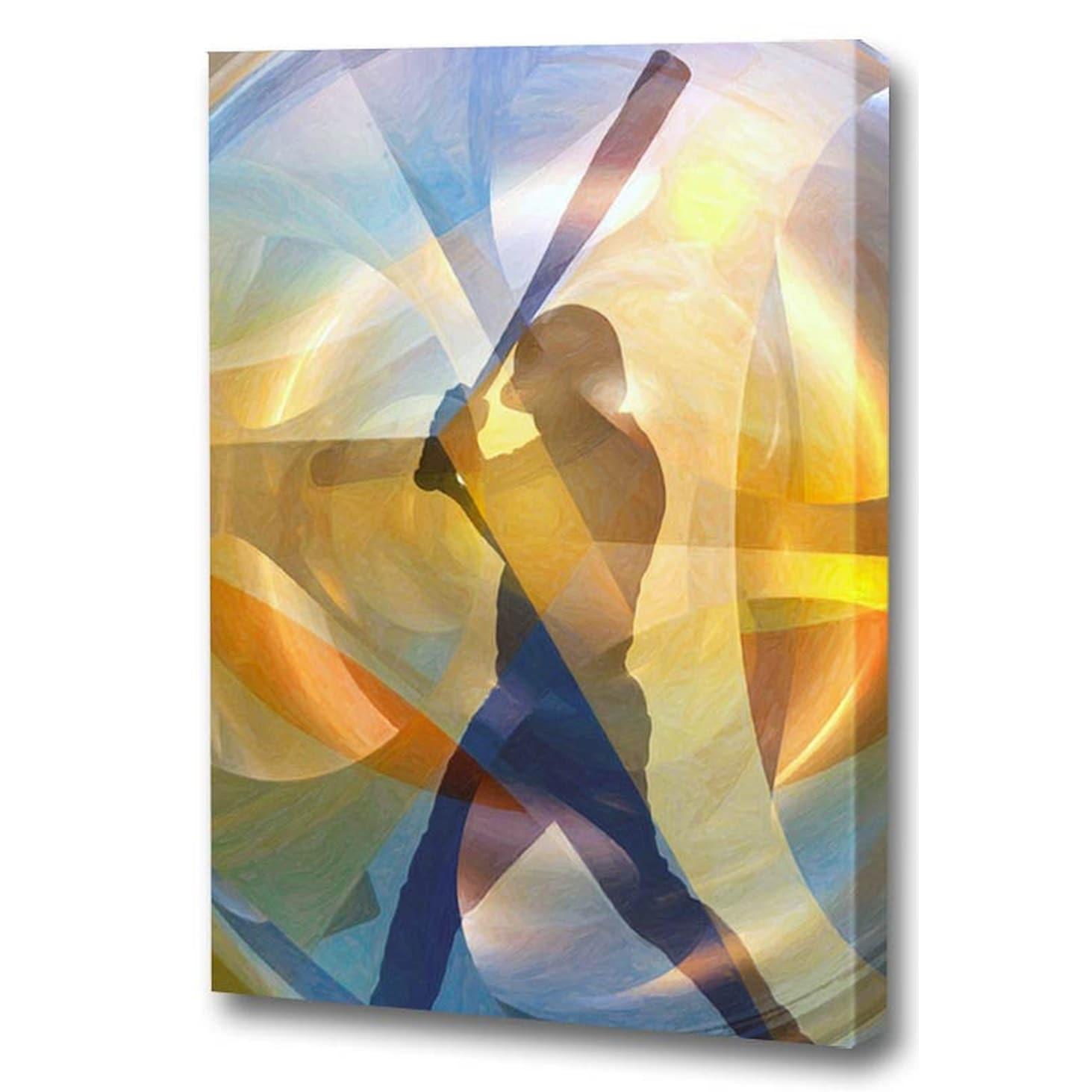 Menaul Fine Art's 'The Hitter (Baseball)' by Scott J. Men...