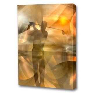Menaul Fine Art 'Fore (Golfer)' by Scott J. Menaul