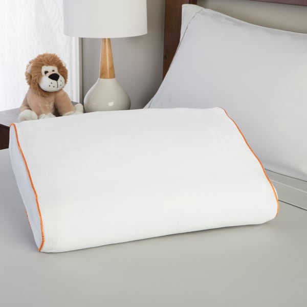 Shop Purecare Dual Silhouette Youth Memory Foam Pillow