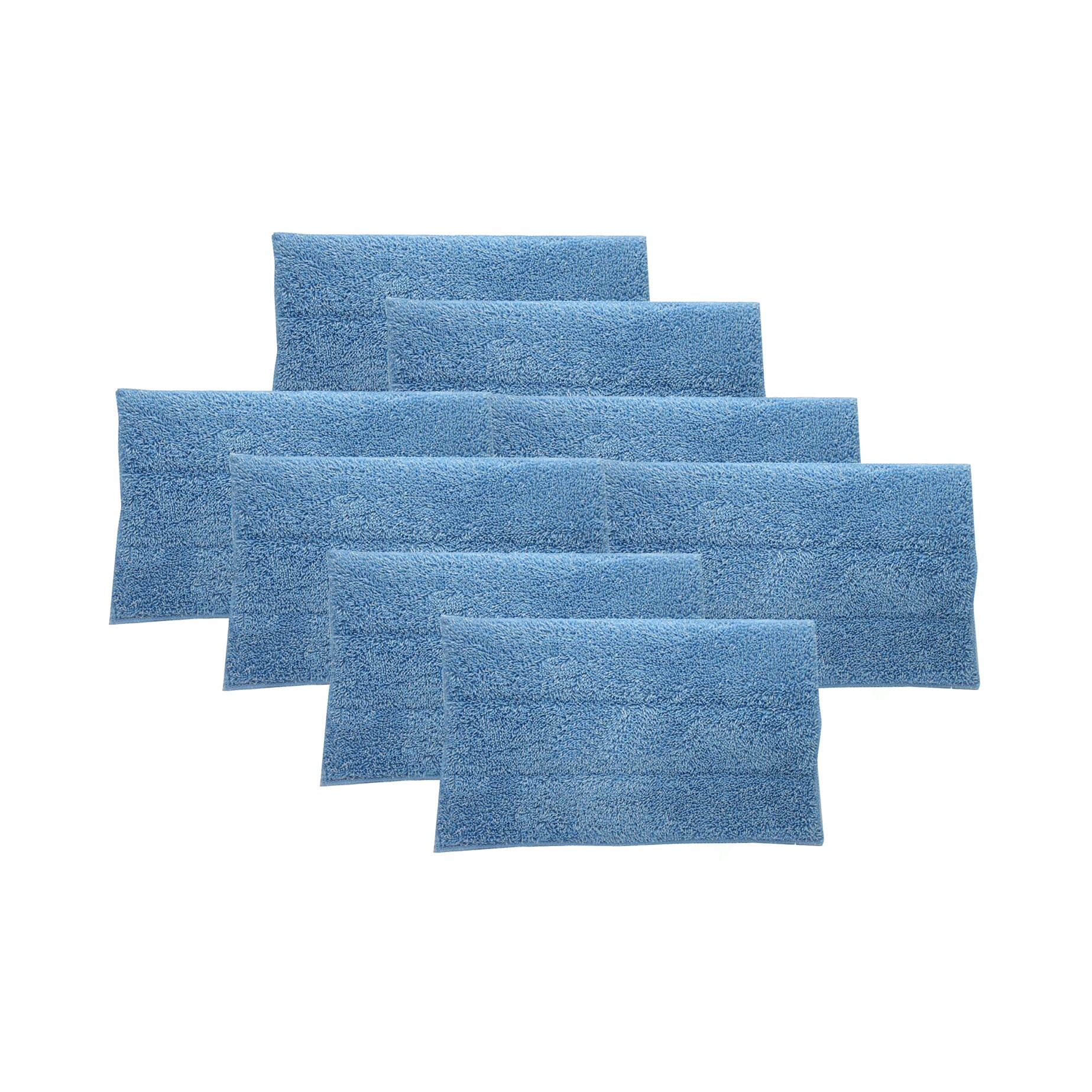 Crucial 8 Blue Steam Mop Pads Fits Haan Part # RMF2 RMF4 ...