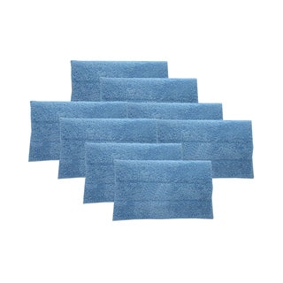 8 Blue Steam Mop Pads Fits HAAN Part # RMF2 RMF4