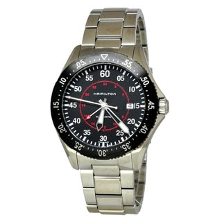 Link to Hamilton Men's H76755135 'Khaki Aviation' Automatic Stainless Steel Watch Similar Items in Men's Watches