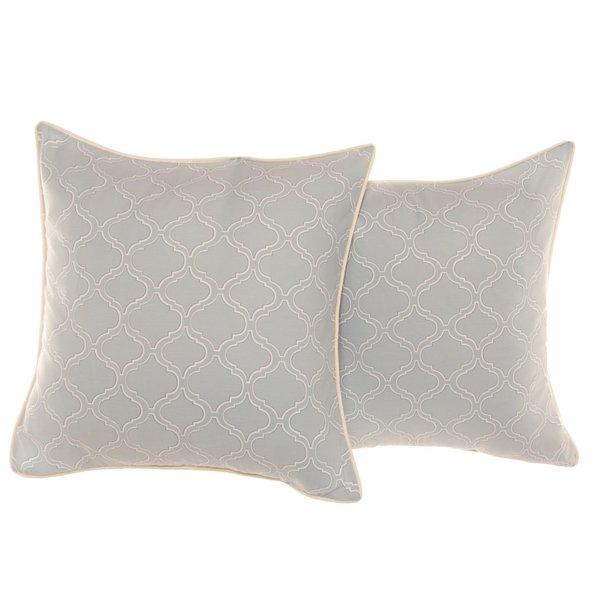 Stone Cottage Savannah Cotton Sateen Euro Pillowcases (Set of 2)