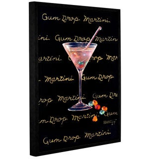 ArtWall Janet Kruskamp's Gum Drop Martini, Gallery Wrapped Floater-framed Canvas