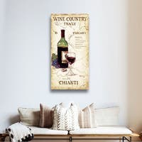 ArtWall Janet Kruskamp's Wine Country IV, Gallery Wrapped Canvas