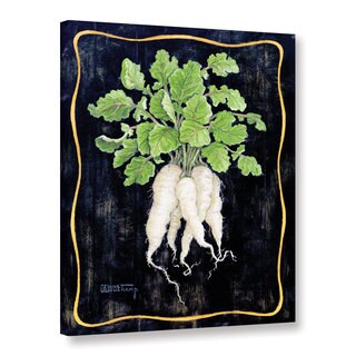 ArtWall Janet Kruskamp's Bouquet Of Radishes II, Gallery Wrapped Canvas