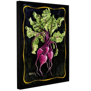 ArtWall Janet Kruskamp's Bouquet Of Beets, Gallery Wrapped Floater-framed Canvas