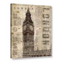 ArtWall Michael Mullan's Vintage London, Gallery Wrapped Canvas