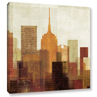 ArtWall Michael Mullan's 'Summer In The City 2', Gallery-Wrapped Canvas