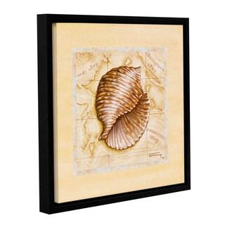 ArtWall Janet Kruskamp's Sea Treasures I, Gallery Wrapped Floater-framed Canvas