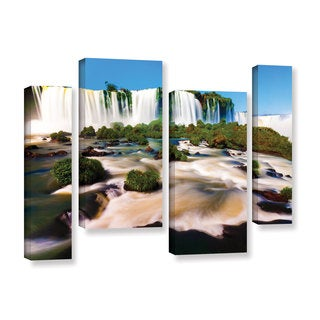 ArtWall Cody York's Brazil 2, 4 Piece Gallery Wrapped Canvas Staggered Set
