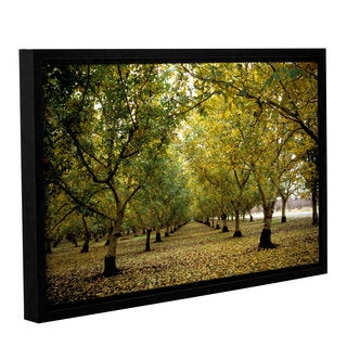 ArtWall Kathy Yates's Fall Orchard, Gallery Wrapped Floater-framed Canvas
