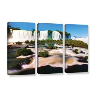 ArtWall Cody York's Brazil 2, 3 Piece Gallery Wrapped Canvas Set