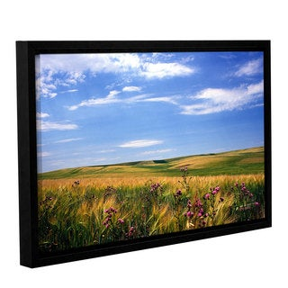 ArtWall Kathy Yates's Field of Dreams, Gallery Wrapped Floater-framed Canvas
