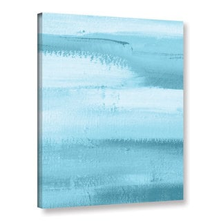 ArtWall Pied Piper's Cool Blue , Gallery Wrapped Canvas