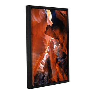 ArtWall Linda Parker's Slot Canyon VI, Gallery Wrapped Floater-framed Canvas