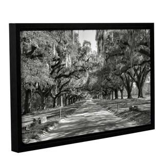 ArtWall Steve Ainsworth's Live oak Avenue II, Gallery Wrapped Floater-framed Canvas