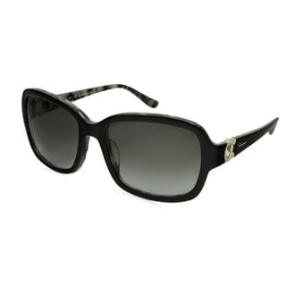 Ferragamo Women's SF704R Rectangular Sunglasses