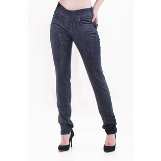Bluberry Denim Women's Plus Size Slim Leg Denim