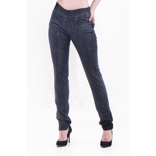 Bluberry Denim Women's Plus Size Slim Leg Denim