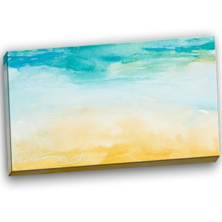 Designart - Soil and Sky Strokes - Landscape Canvas Art Print